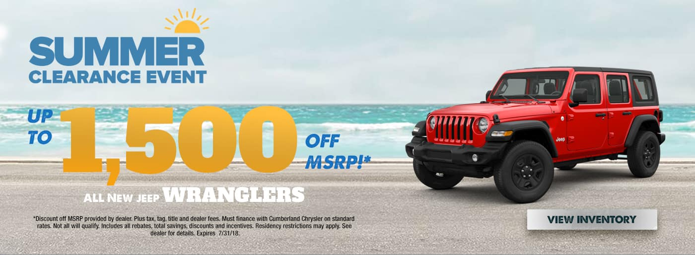 New Jeep Wranglers Cookeville TN