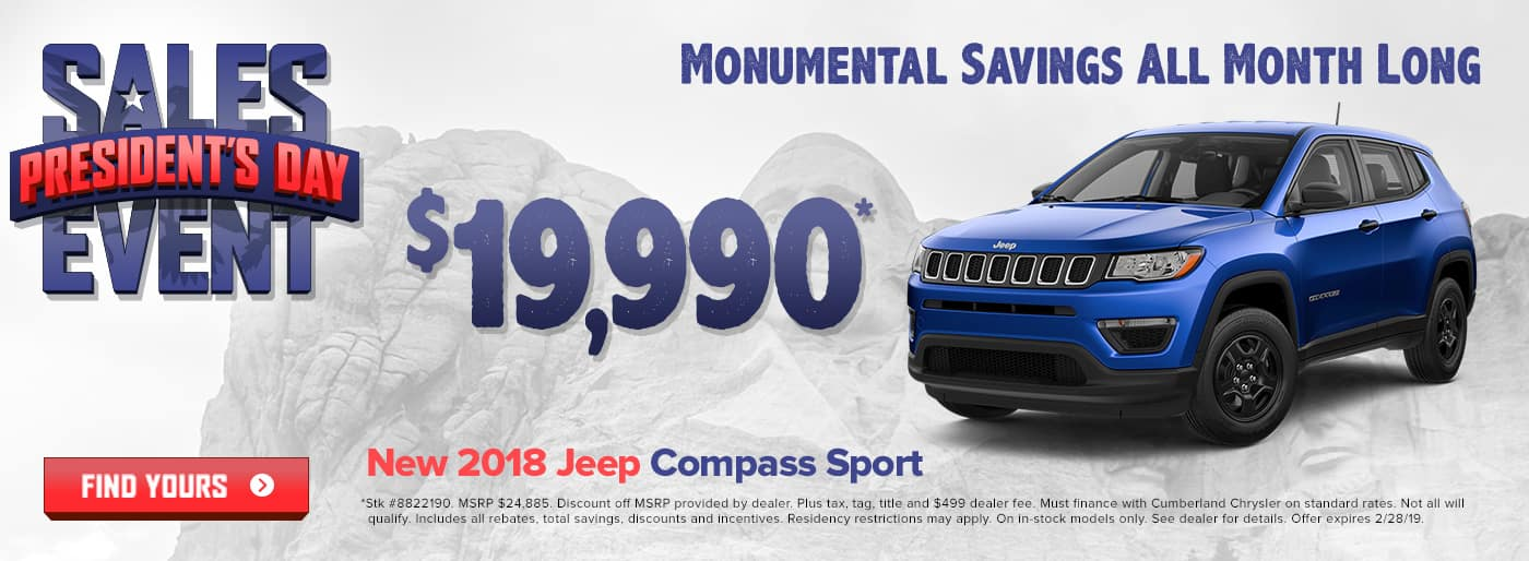 New 2018 Jeep Compass Cookeville TN
