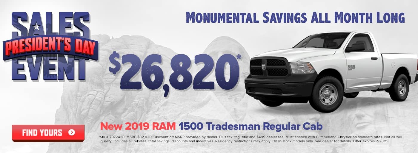 New 2019 RAM 1500 Cookeville TN
