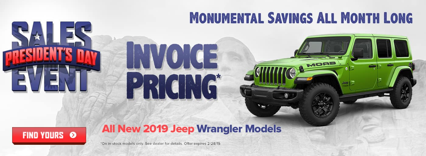 New 2019 Jeep Wrangler Models Cookeville TN