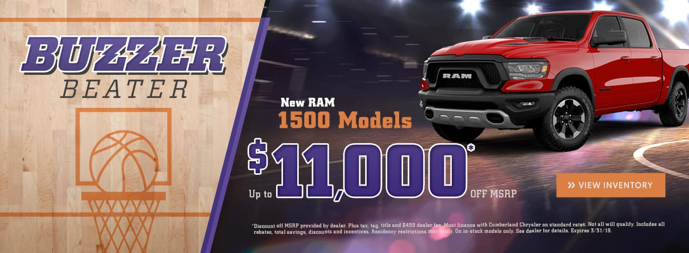 New RAM 1500 Cookeville TN