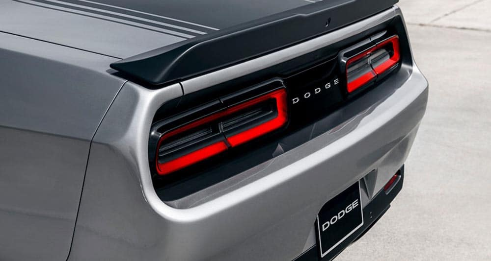 2018 Dodge Challenger spoiler