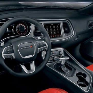 2018 Dodge Challenger dashboard