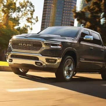 2019 Ram 1500 on city street