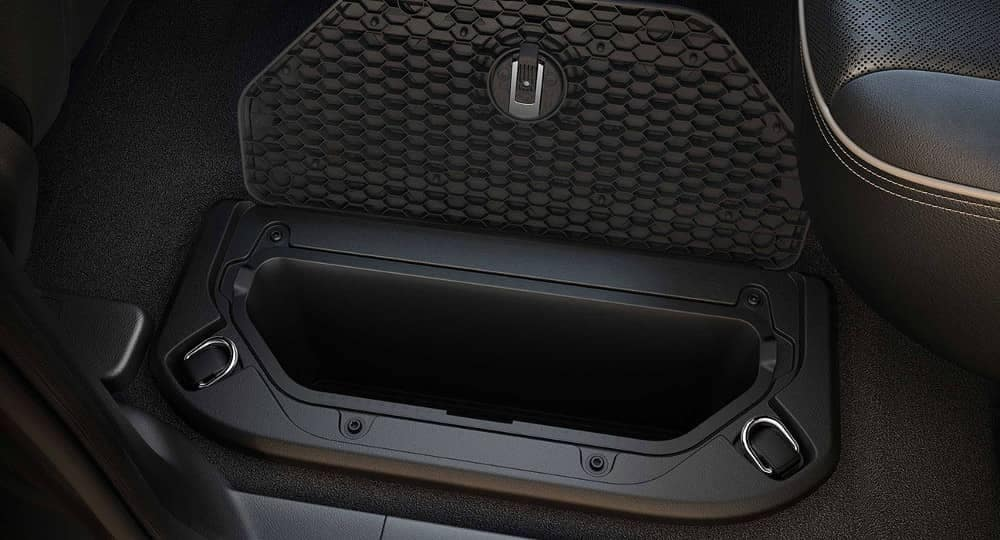 2019 Ram 1500 in floor storage space