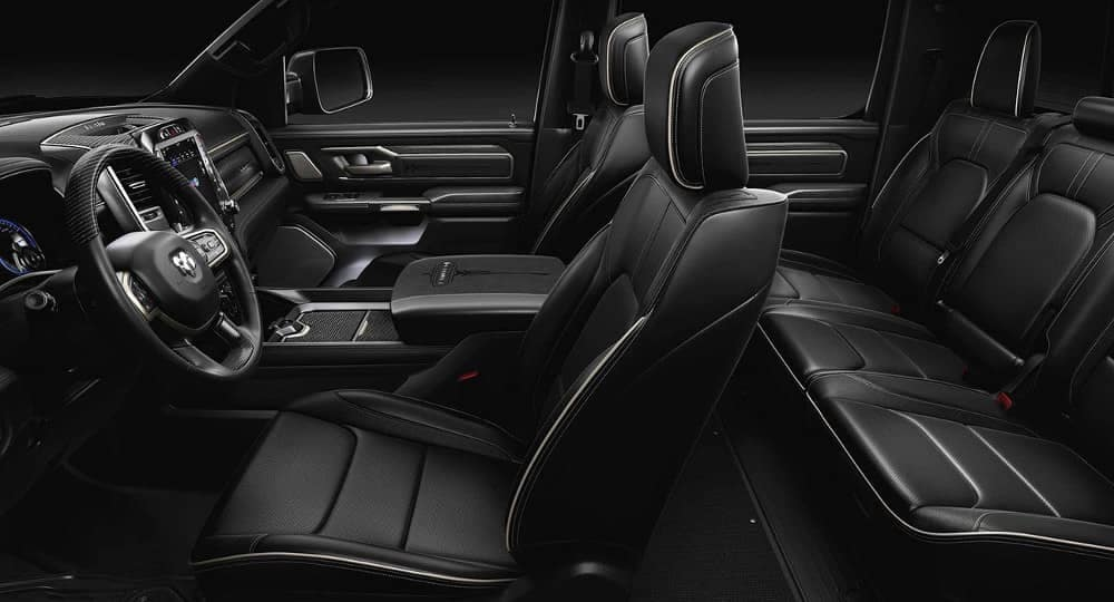 2019 Ram 1500 interior seating