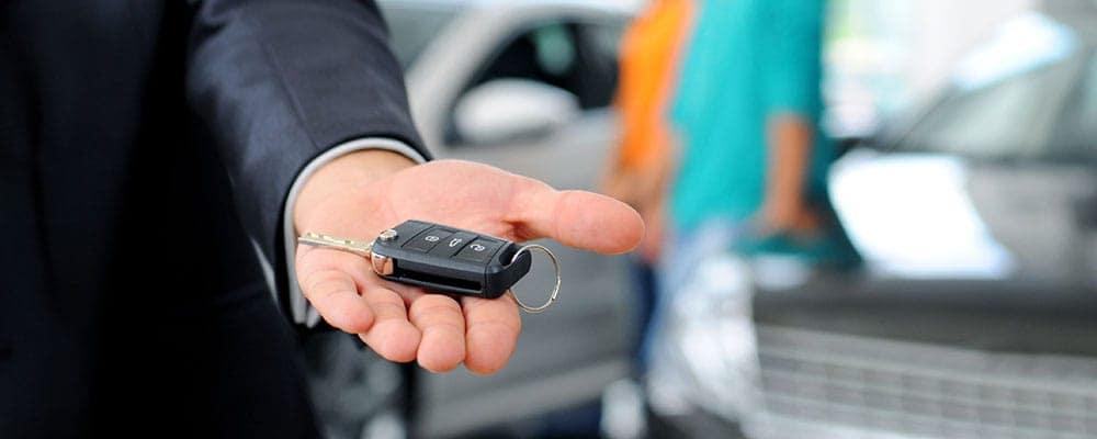 Car Keys in Hand 28513071