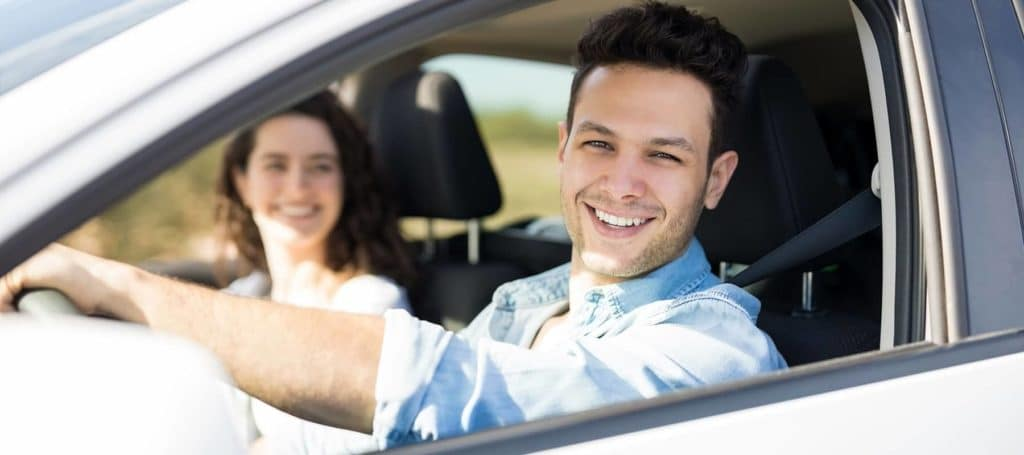 Couple-Driving