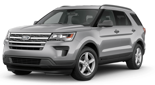 2019 Ford Explorer Silver