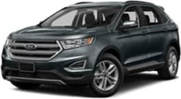 Grey 2017 Ford Edge