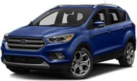 Blue 2017 Ford Escape