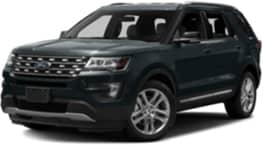 Black 2018 Ford Explorer