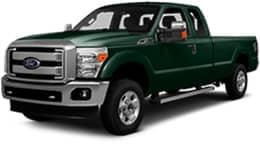 Green 2017 Ford F-250