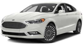 White 2017 Ford Fusion