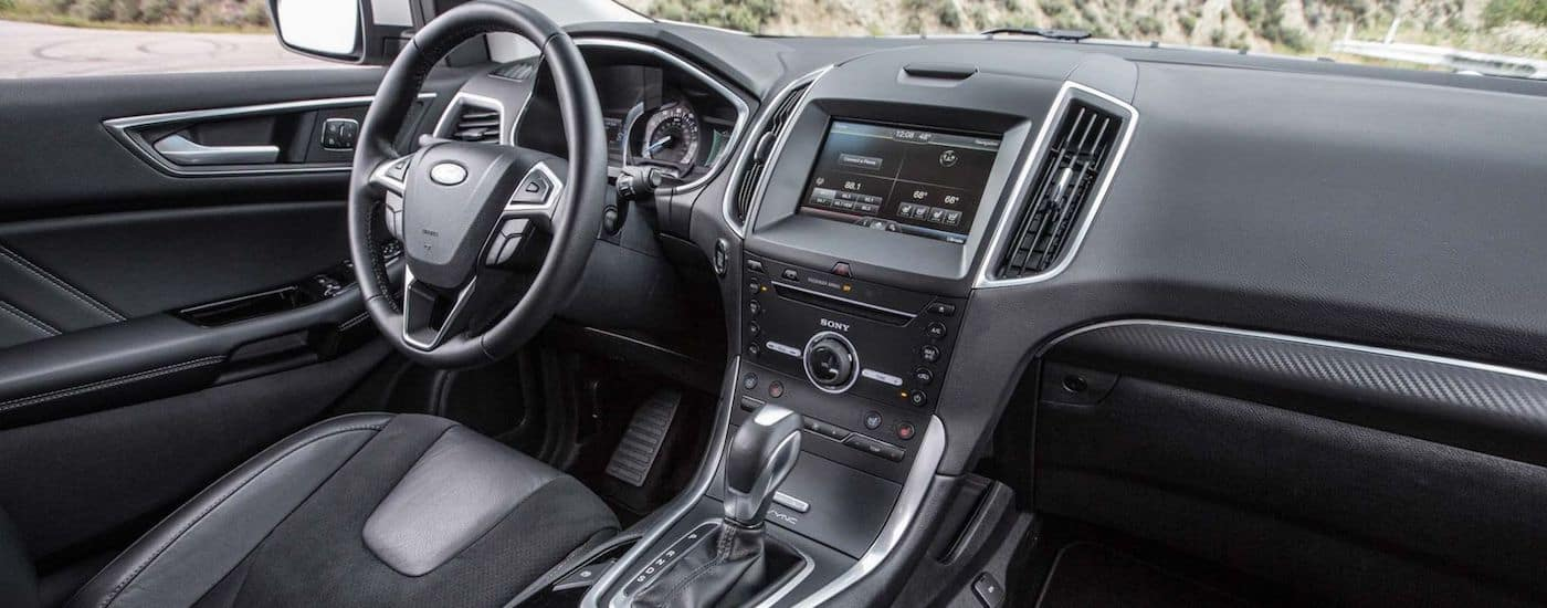 New Ford Edge Technology