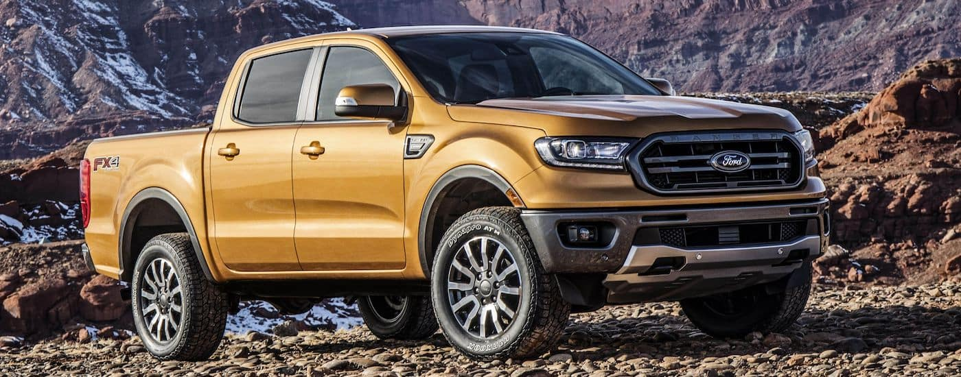 New Ford Ranger Exterior