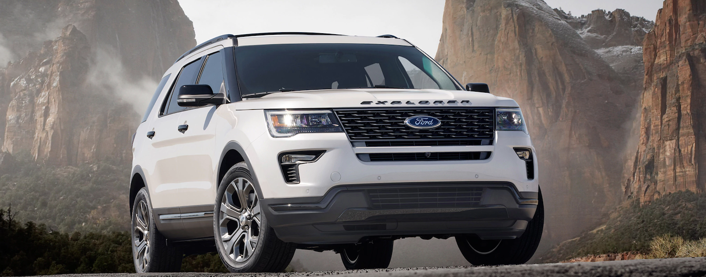 New Ford Explorer Selection