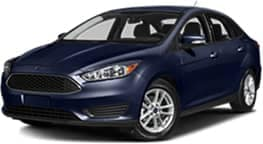 Dark Blue 2017 Ford Focus