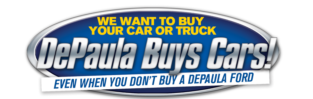 DePaula Ford buys used cars even if you don't buy from us header image