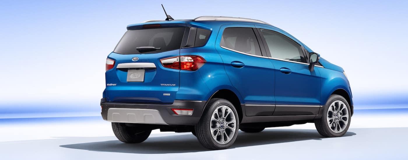 2018 Ford EcoSport Design