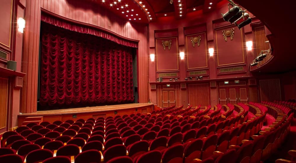 The interior of a classic theater found in Albany, NY.