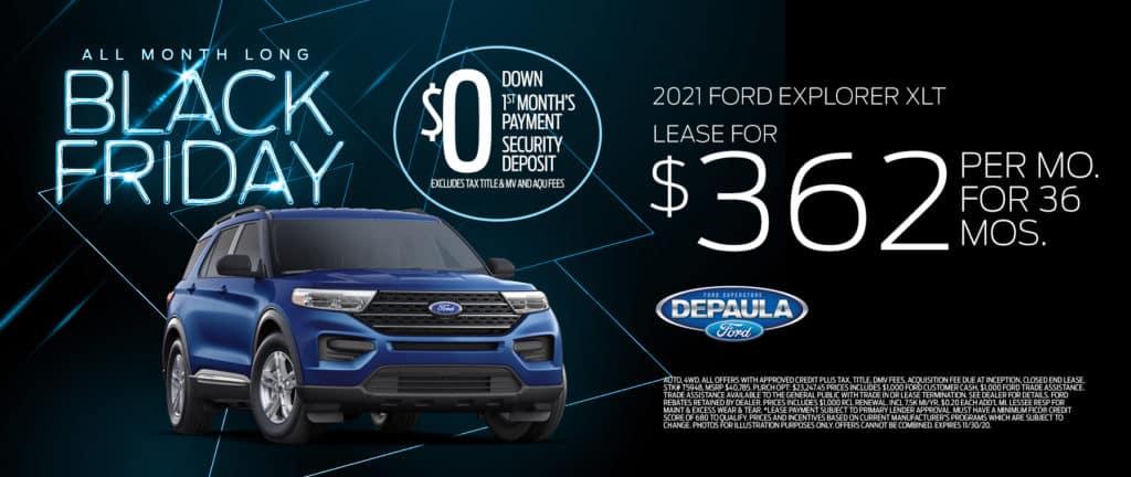 New 2021 Ford Explorer XLT