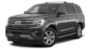 A grey 2020 Ford Expedition is facing left.