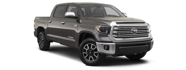 A brown 2020 Toyota Tundra is facing right.