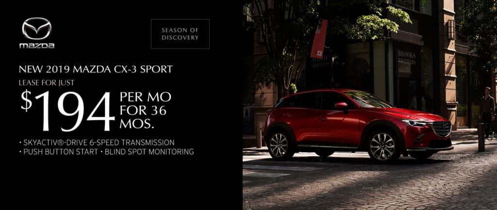New 2019 Mazda CX-3