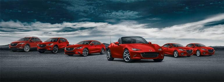 A Collection of Mazda Cars for Sale