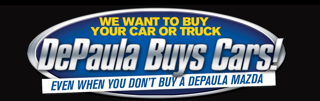 Depaula Mazda Buys Logo