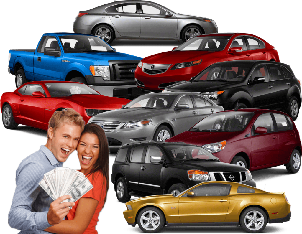 happy customers and used cars