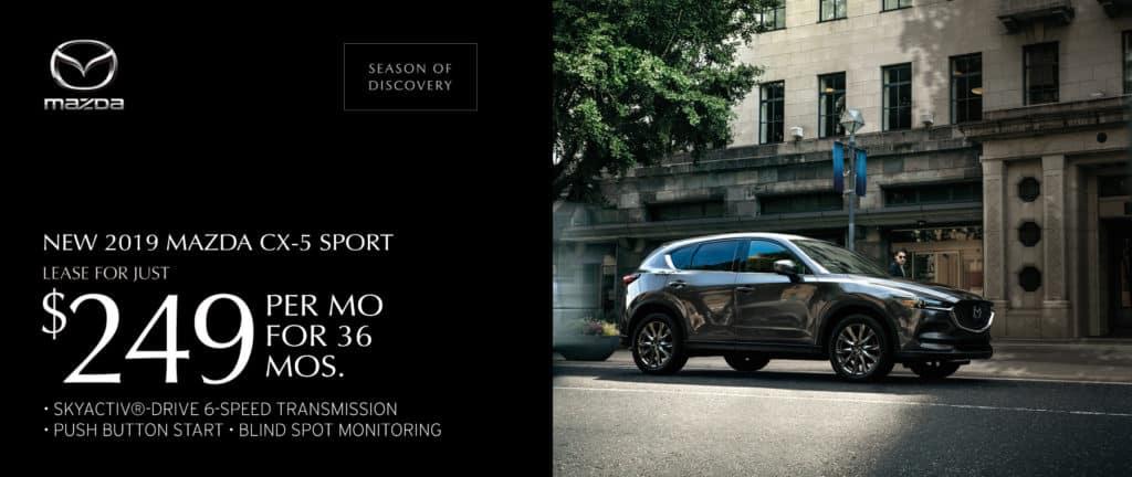 New 2019 Mazda CX-5 Sport