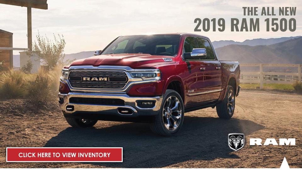 All New 2019 Ram 1500 Brewbaker Dodge Chrysler Jeep Ram Fiat Of