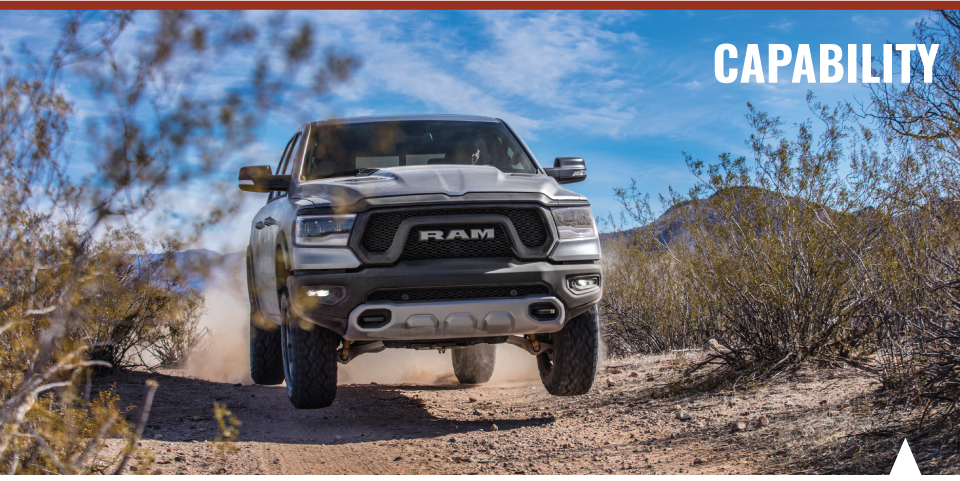 2019 Ram 1500 capability