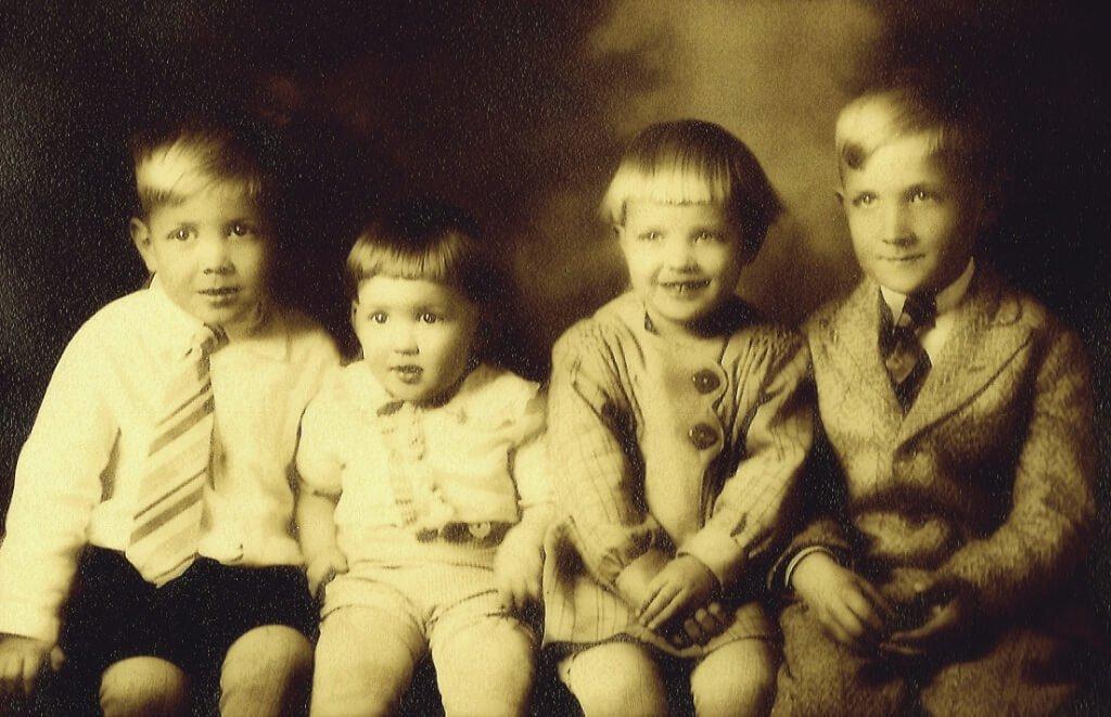 John, Dwight, Judith, Harold - 1929