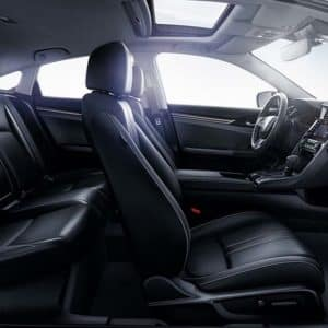 Interior 2020 Honda Civic available Drive Autogroup