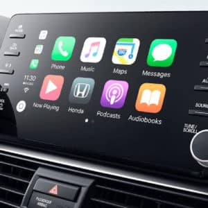 2020 Honda Accord display and apple carplay at Drive Autogroup