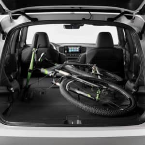 cargo space in the 2021 Honda Pilot at Drive Autogroup