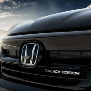 2021 Honda Pilot exterior black edition at Drive Autogroup