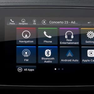 Navigation system available in the 2021 Honda Pilot at Drive Autogroup