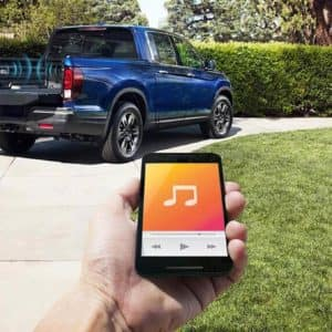 Truck in-bed audio system available in the 2020 Honda Ridgeline available at our Drive Autogroup locations