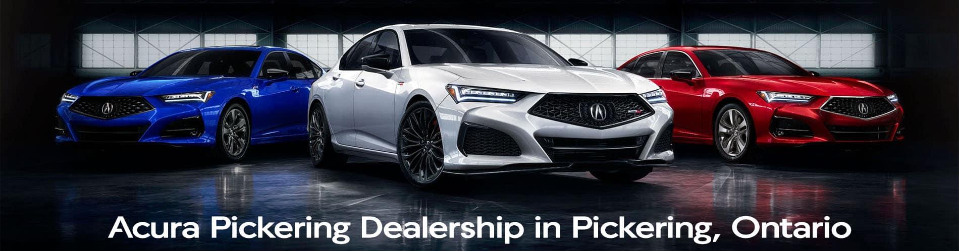 Acura Pickering Dealership Located in Pickering Ontario