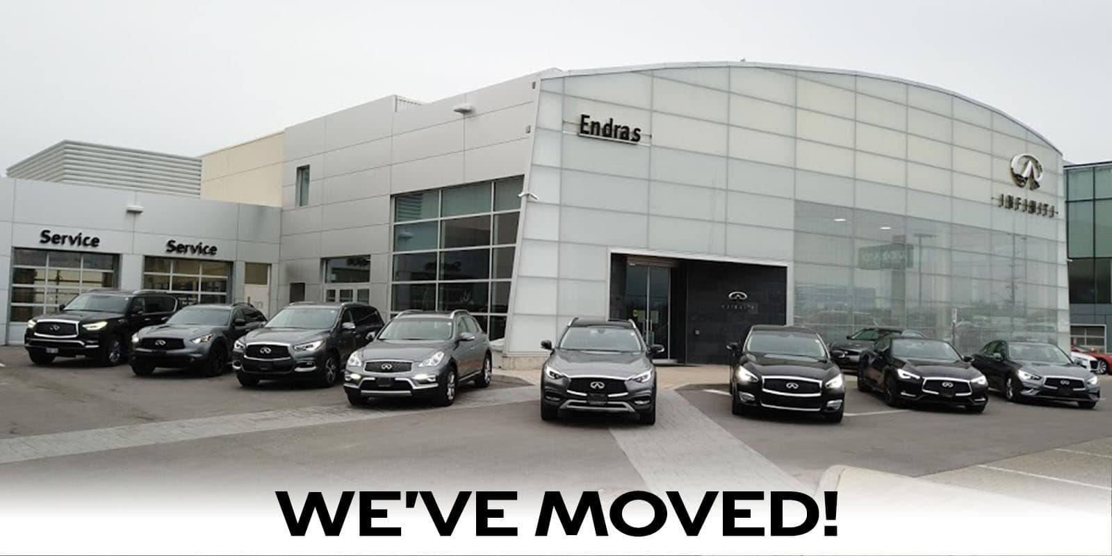 Endras Infiniti Has Moved