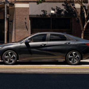 2021 Hyundai Elantra Exterior Grey Side- Available at Ajax Hyundai