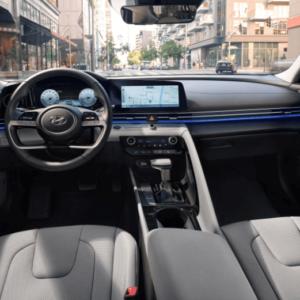 2021 Hyundai Elantra Interior Front - Available at Ajax Hyundai