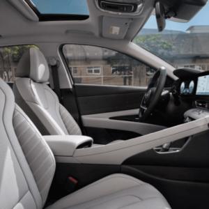 2021 Hyundai Elantra Interior Front Seats - Available at Ajax Hyundai