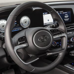 2021 Hyundai Elantra Interior Front Dash - Available at Ajax Hyundai