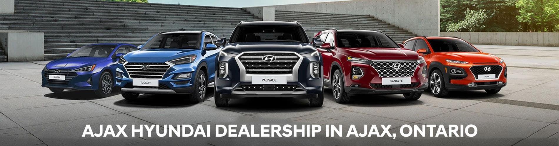 Ajax Hyundai Located in Ajax Ontario