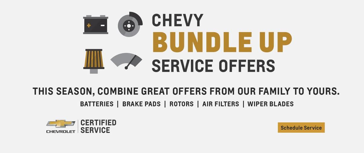 Chevy Service Slider